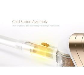 Ручной вертикальный проводной пылесос Puppyoo WP522 Gold