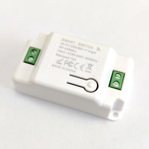 Смарт Wi-Fi дистанційний вимикач 220v 2200w